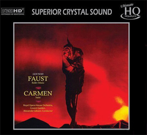 Gounod & Carmen Faust Ballet Music & Carmen Suite Numbered Limited Edition Japanese Import UHQCD