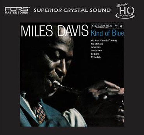 Miles Davis Kind of Blue Numbered Limited Edition Japanese Import UHQCD