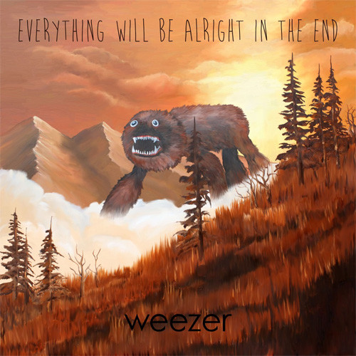 Weezer Everything Will Be Alright in the End 180g LP
