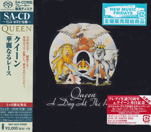 Queen A Day At The Races Single-Layer Stereo Japanese Import SHM-SACD