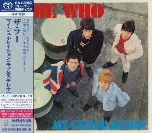 The Who My Generation Single-Layer Stereo Japanese Import SHM-SACD