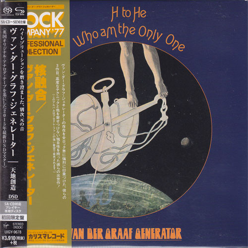 Van der Graaf Generator H to He, Who Am the Only One Single-Layer Stereo Japanese Import SHM-SACD