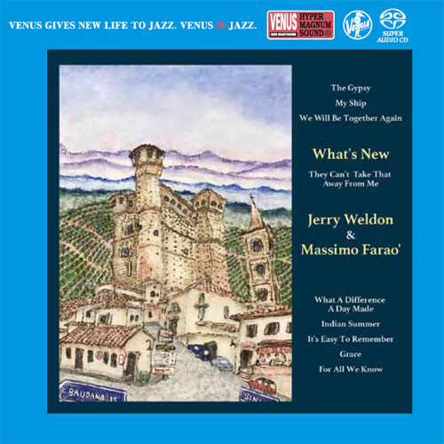 Jerry Weldon & Massimo Farao' What's New Single-Layer Stereo Japanese Import SACD