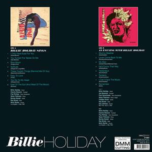 Billie Holiday Sings & An Evening With Billie Holiday DMM 180g Import LP