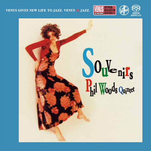 The Phil Woods Quintet Souvenirs Single-Layer Stereo Japanese Import SACD