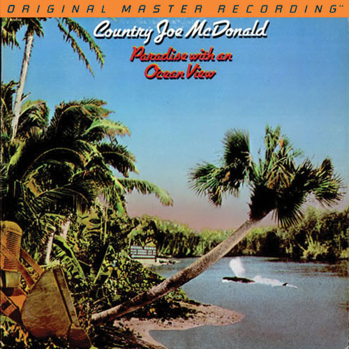 Country Joe McDonald Paradise With An Ocean View LP
