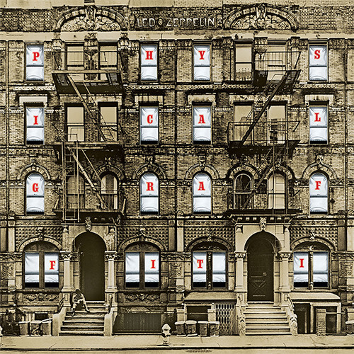 Led Zeppelin Physical Graffiti Numbered Limited Edition Super Deluxe 180g 3LP & 3CD Box Set