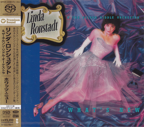Linda Ronstadt & The Nelson Riddle Orchestra What's New Hybrid Multi-Channel & Stereo Japanese Import SACD