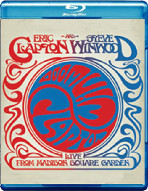 Eric Clapton & Steve Winwood Live From Madison Square Blu-Ray Disc