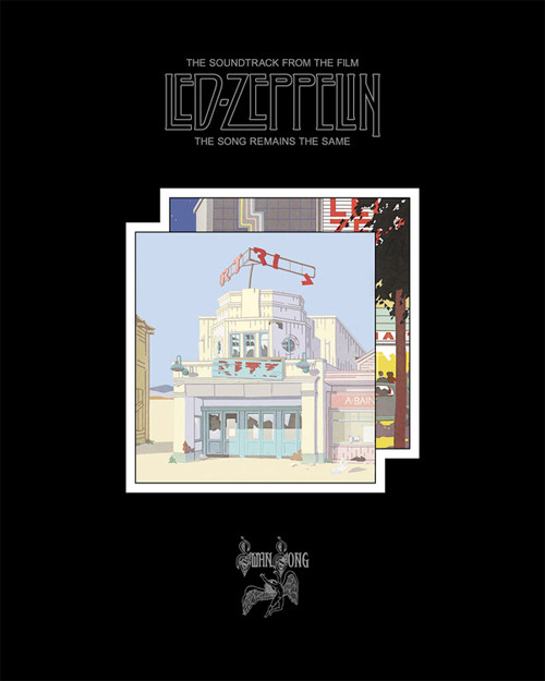 Led Zeppelin The Song Remains The Same Blu-Ray Audio Disc