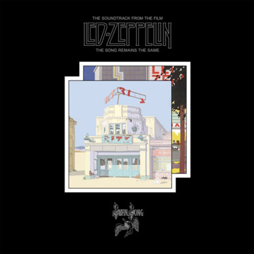 Led Zeppelin The Song Remains The Same 180g 4LP, 2CD, 3DVD Super Deluxe Edition Box Set