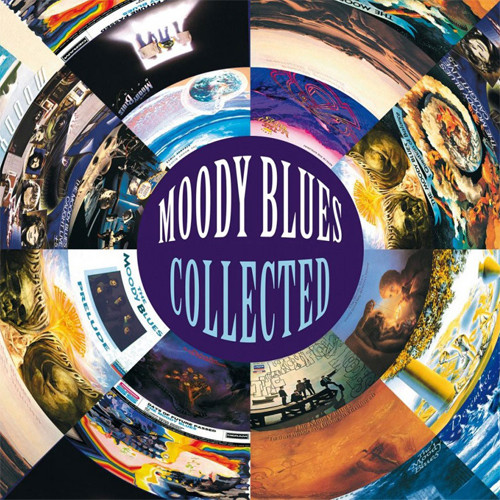 The Moody Blues Collected 180g Import 2LP (Black Vinyl)