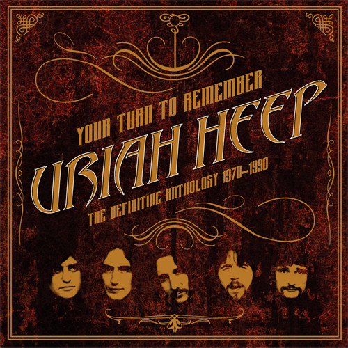 Uriah Heep Your Turn To Remember: The Definitive Anthology 1970-1990 180g 2LP
