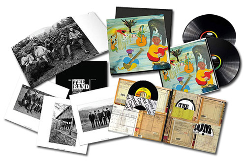 """The Band Music From Big Pink 180g 45rpm 2LP, CD, 7"""", & Blu-Ray Audio Box Set"""