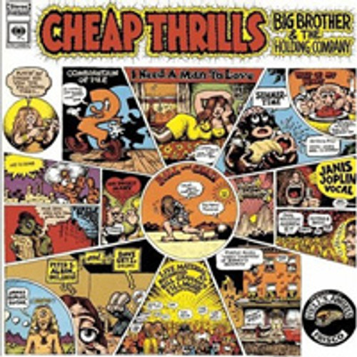 Big Brother & The Holding Company Cheap Thrills 180g LP