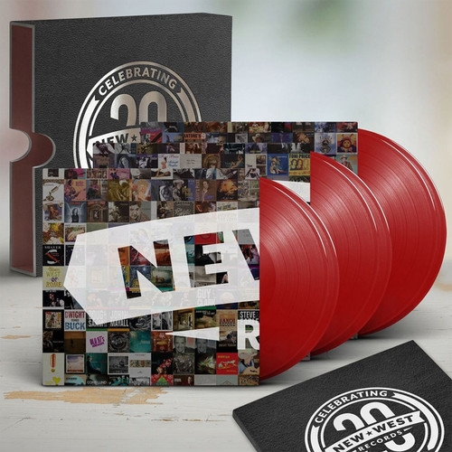 New West Records 20th Anniversary Numbered Limited Edition 180g 6LP Box Set (Red Vinyl)