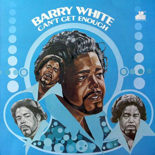 Barry White Can't Get Enough 180g LP