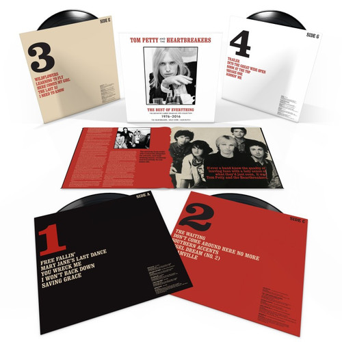 Tom Petty & The Heartbreakers The Best Of Everything - The Definitive Career Spanning Hits Collection 1976-2016 180g 4LP