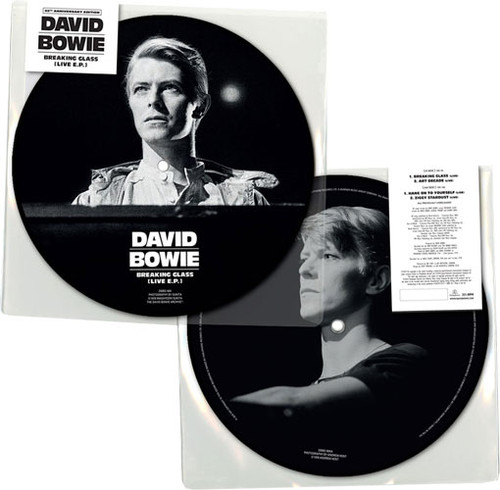 """David Bowie Breaking Glass E.P. 40th Anniversary 7"""" Vinyl EP (Picture Disc)"""