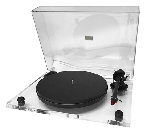 Certified Pre-Owned Pro-Ject 2Xperience Primary Acryl with Ortofon 2M Red Cartridge (Clear)
