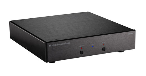 Musical Surroundings Nova III Phono Stage (Black)