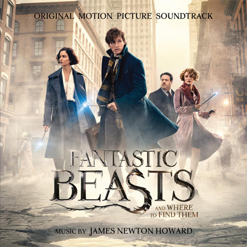 James Newton Howard Fantastic Beasts And Where To Find Them Soundtrack Numbered Limited Edition 180g 2LP (Smoke Vinyl)
