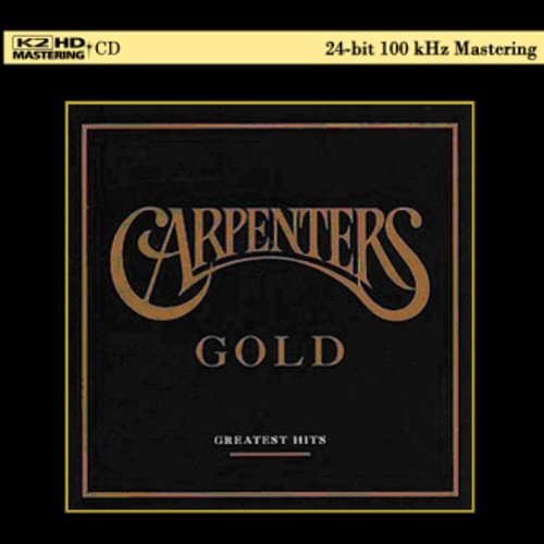 The Carpenters Gold Greatest Hits K2 HD Import CD Scratch & Dent