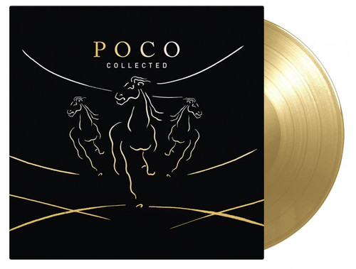 Poco Collected Numbered Limited Edition 180g Import 2LP (Gold Vinyl)