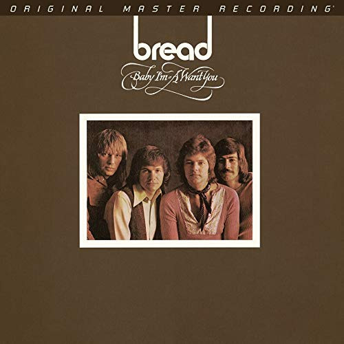 Bread Baby I'm-A Want You Numbered Limited Edition 180g LP