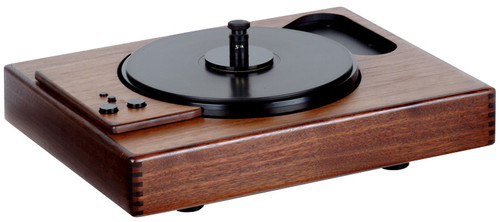 Sota Sapphire Series V Non-Vacuum Turntable With Wood Armboard Cut for SME Tonearm (Walnut)