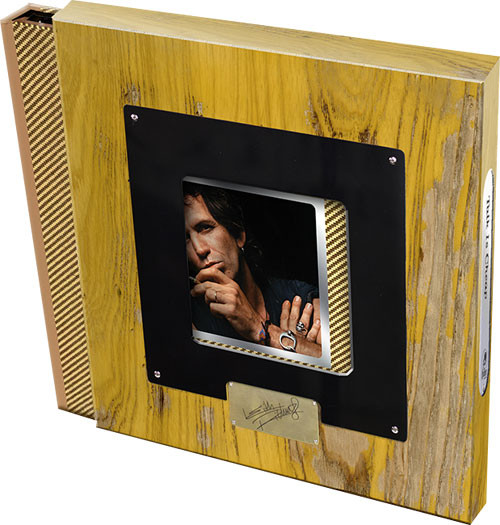 """Keith Richards Talk Is Cheap Numbered Limited Edition 180g 2LP, 2 7"""" Vinyl & 2CD Super Deluxe Edition Box Set"""