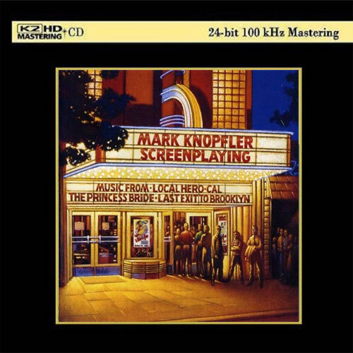Mark Knopfler Screenplaying Numbered Limited Edition K2 HD Import CD