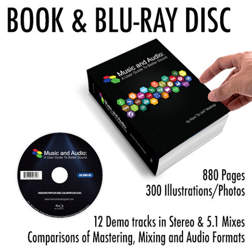 Music and Audio: A User Guide To Better Sound Book & Blu-Ray Disc
