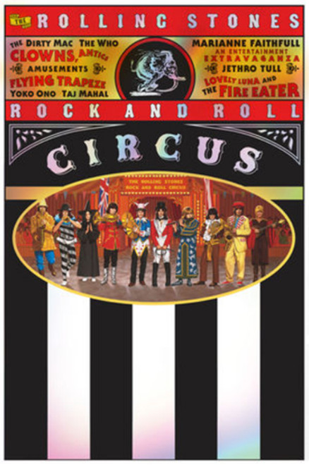 The Rolling Stones The Rolling Stones Rock and Roll Circus 2CD, Blu-ray & DVD Set