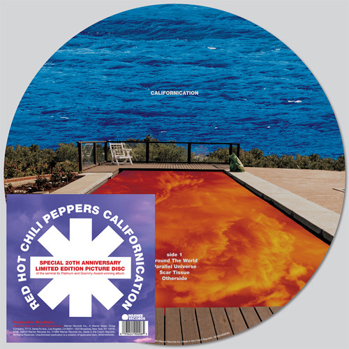 The Red Hot Chili Peppers Californication 2LP (Picture Disc)