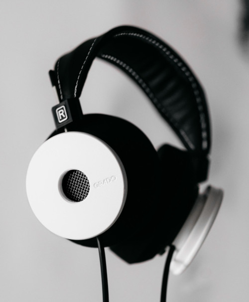 Grado Limited Edition White Headphones