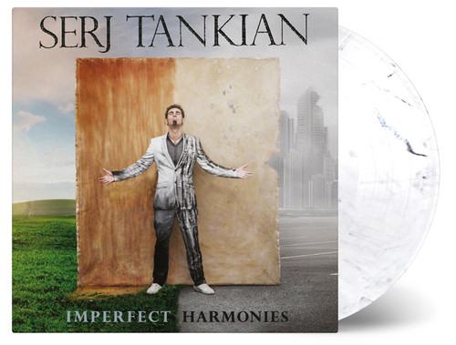 Serj Tankian Imperfect Harmonies Numbered Limited Edition 180g Import LP (White Marbled Vinyl)