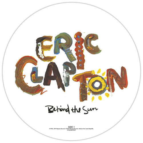 Eric Clapton Behind The Sun LP (Picture Disc)