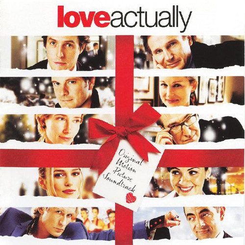 "Love Actually Soundtrack 2LP (Red & White ""Candy Cane"" Vinyl)"
