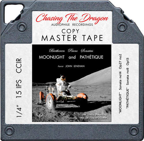 Beethoven Piano Sonatas: Moonlight and Pathetique Master Quality Reel To Reel Tape