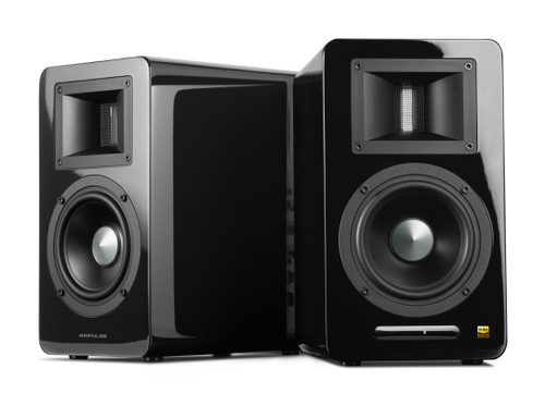 AirPulse A100 Active Hi-Fi Speakers (Black)