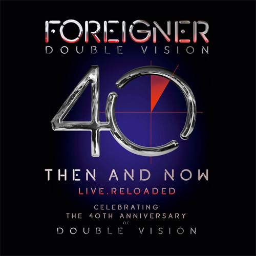 Foreigner Double Vision: Then And Now - Live . Reloaded 180g 2LP & Blu-Ray