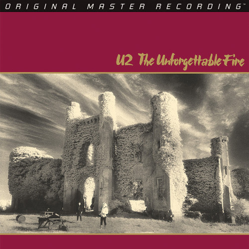 U2 The Unforgettable Fire Numbered Limited Edition 200g LP