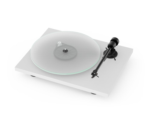 Pro-Ject T1 Turntable (Satin White)