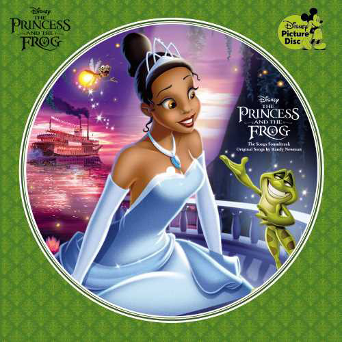 The Princess and The Frog: The Songs Soundtrack LP (Picture Disc)