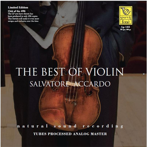 Salvatore Accardo The Best of Violin 180g LP