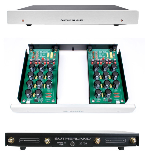 Sutherland 20/20 LPS MM/MC Phono Preamp with Linear Power Supply