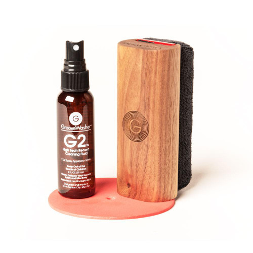 GrooveWasher Record Cleaning Kit (Walnut)