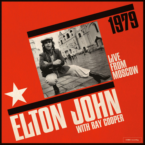 Elton John with Ray Cooper Live From Moscow 1979 180g 2LP