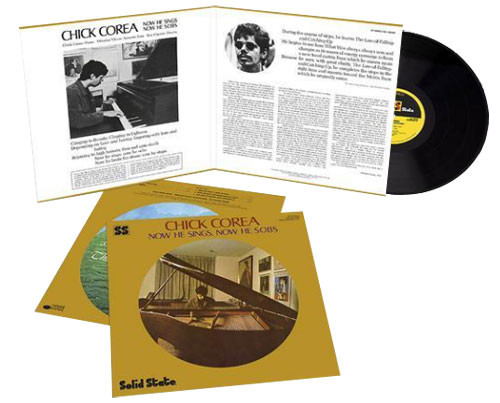 Chick Corea Now He Sings, Now He Sobs 180g LP